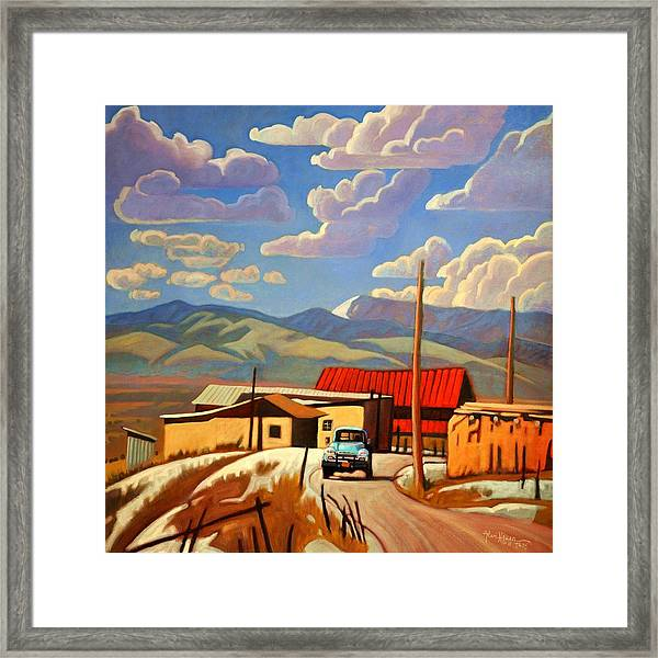 Blue Apache Framed Print