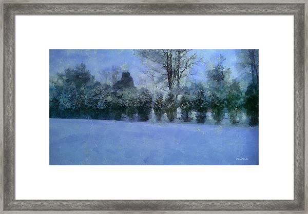 Blue Dawn Framed Print