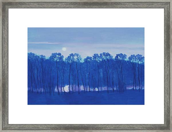 Blue Enchantment Il Framed Print
