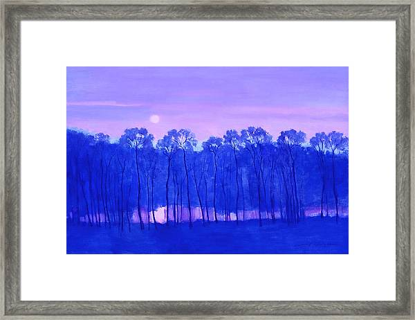 Blue Enchantment Framed Print