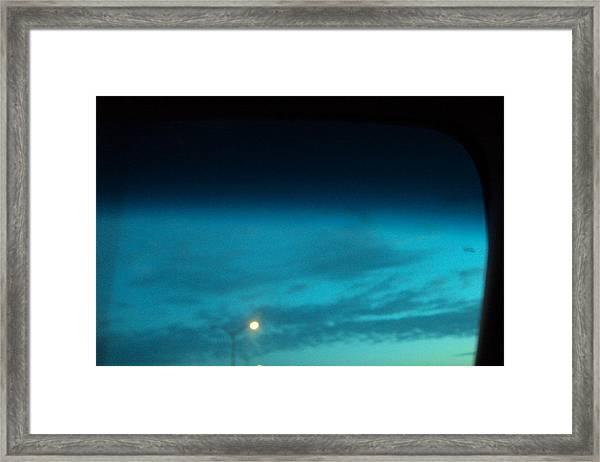 Blue Light Framed Print by Cynthia Harvey
