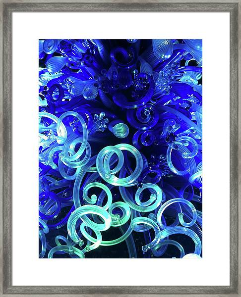 Blue Magic Framed Print by Richard Mansfield