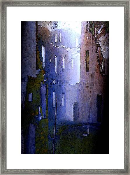 Blue Mesa Framed Print