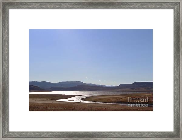 Blue Mesa Reservoir Framed Print