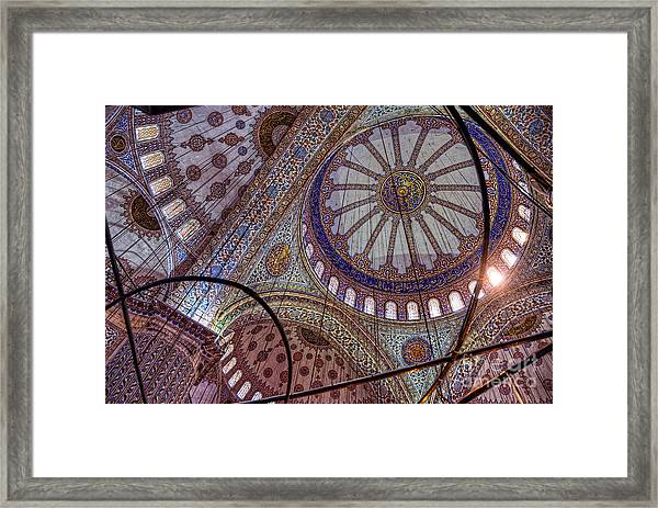 Blue Mosque Istanbul Framed Print