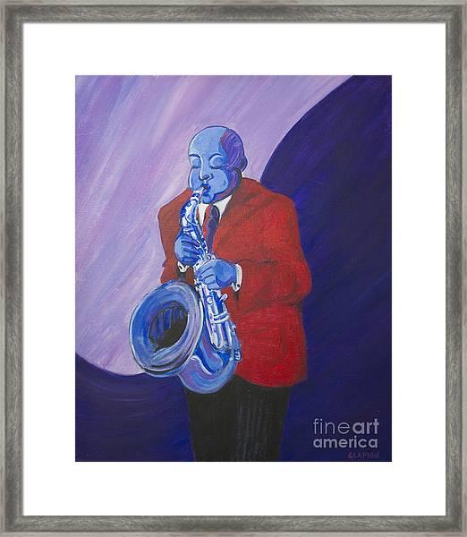 Blue Note Framed Print
