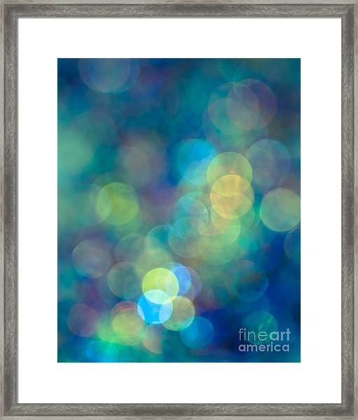 Blue Of The Night Framed Print