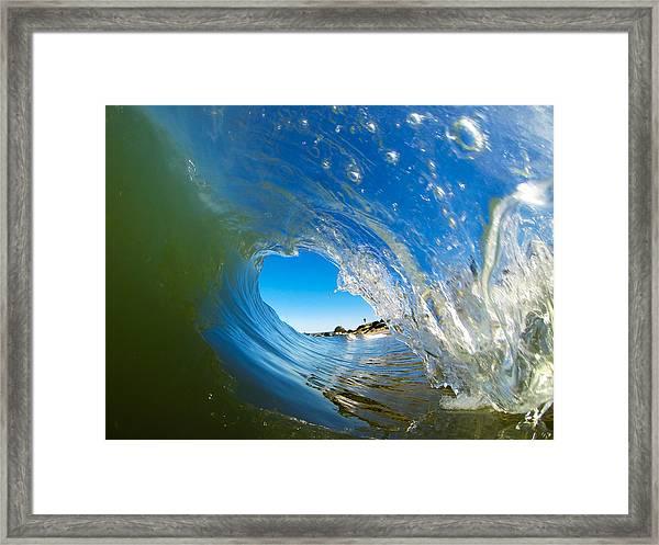 Blue Perfection Framed Print by David Alexander