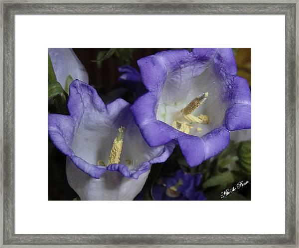 Blue Persuasion Framed Print