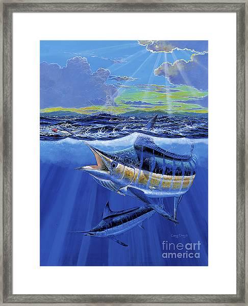 Blue Pitcher Off00115 Framed Print