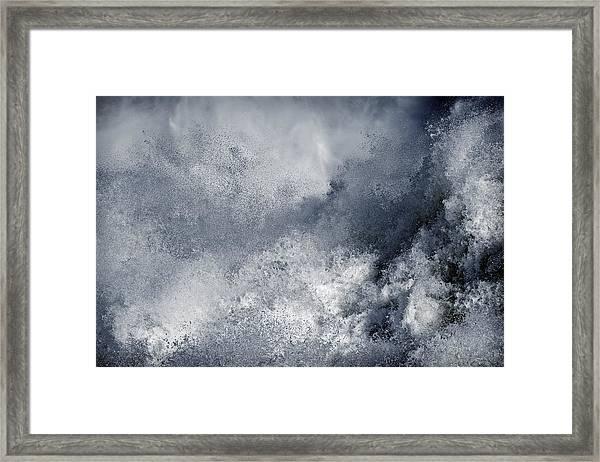 Blue Poseidon Framed Print