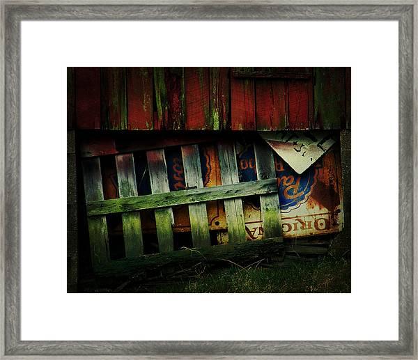 Blue Ribbon Landscape Framed Print