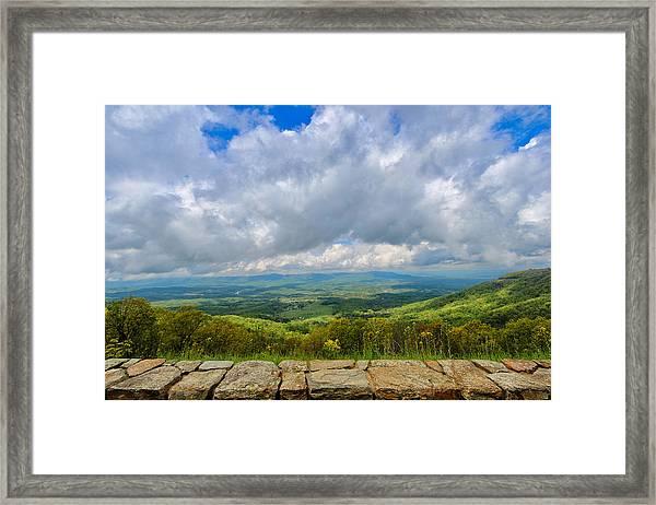 Blue Ridge Bounty Framed Print