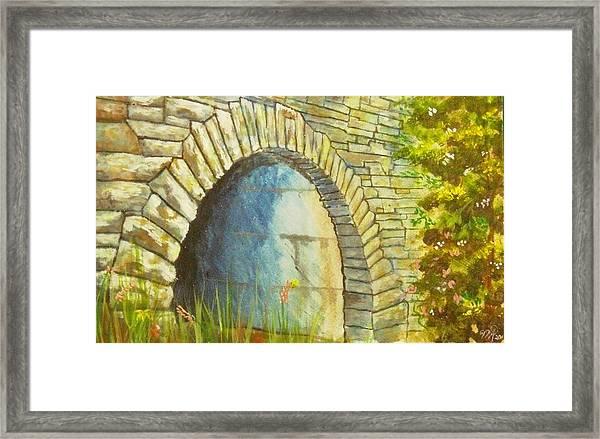 Blue Ridge Tunnel Framed Print