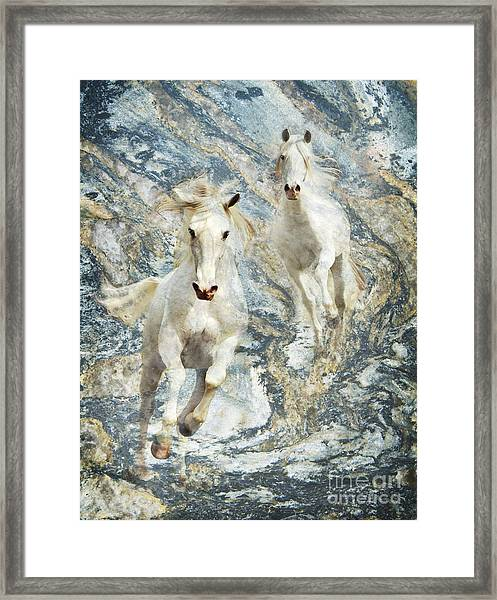 Framed Print featuring the photograph Blue Thunder by Melinda Hughes-Berland