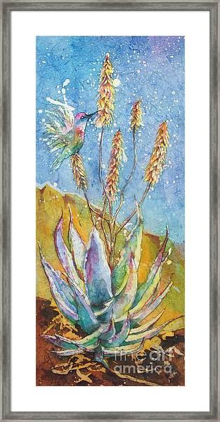 Blue Yucca Framed Print
