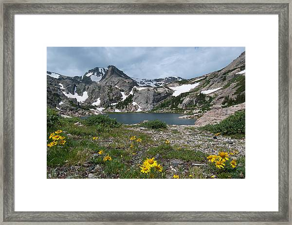 Bluebird Lake - Colorado Framed Print