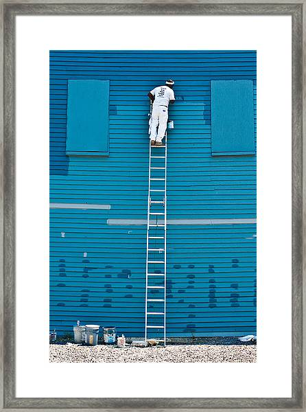 Blues Expert Framed Print