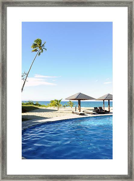 Blues Framed Print by Jessica Rose