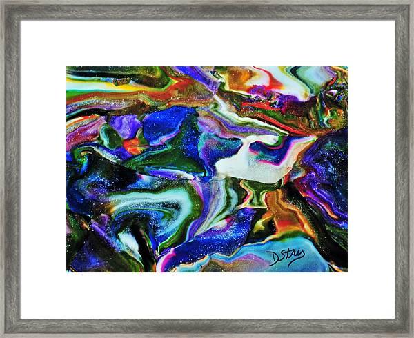 Blutanium Framed Print