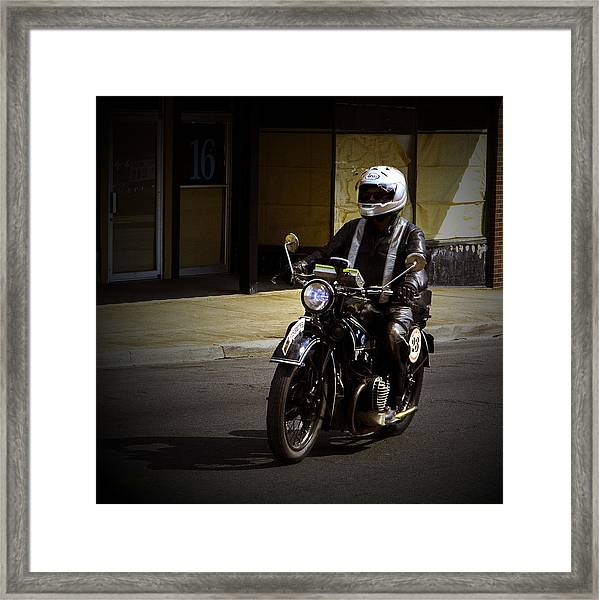 Bmw 23 In Cape Framed Print