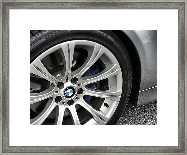 B M W M5 Framed Print
