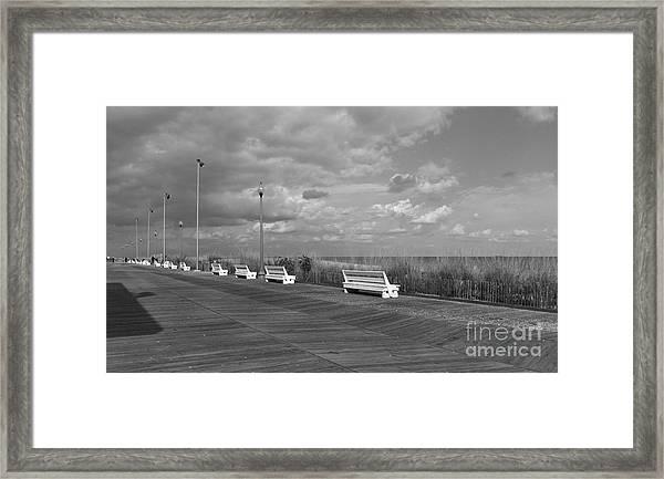 Boardwalk Memories Framed Print
