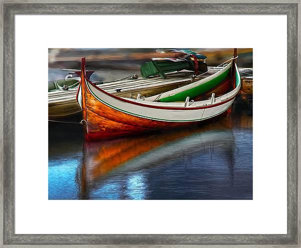 Boat Framed Print