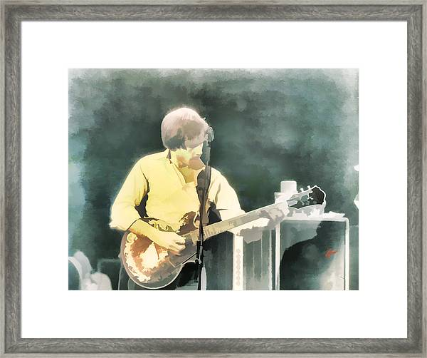 Bob Ace Weir Framed Print