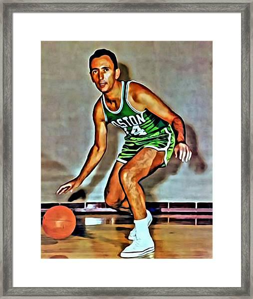Bob Cousy Framed Print