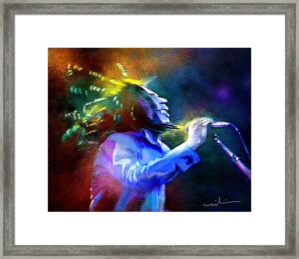 Bob Marley 01 Framed Print