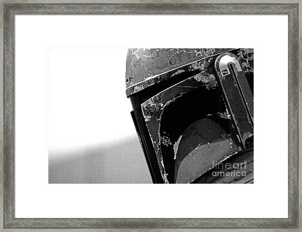 Boba Fett Helmet 24 Framed Print