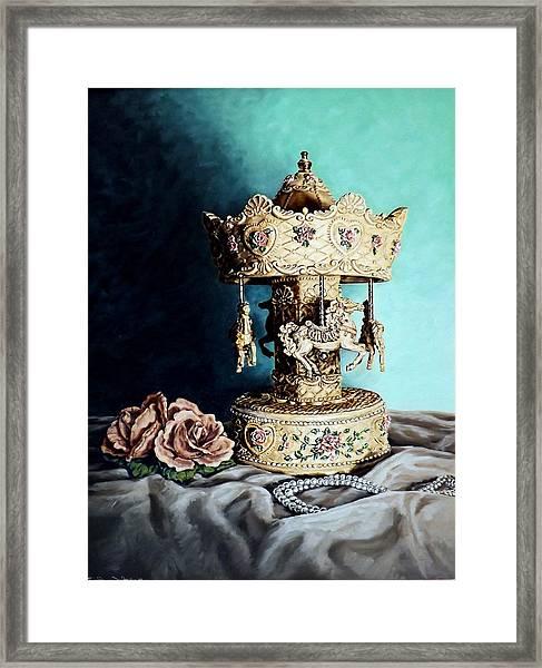 Bobby's Carousel Framed Print