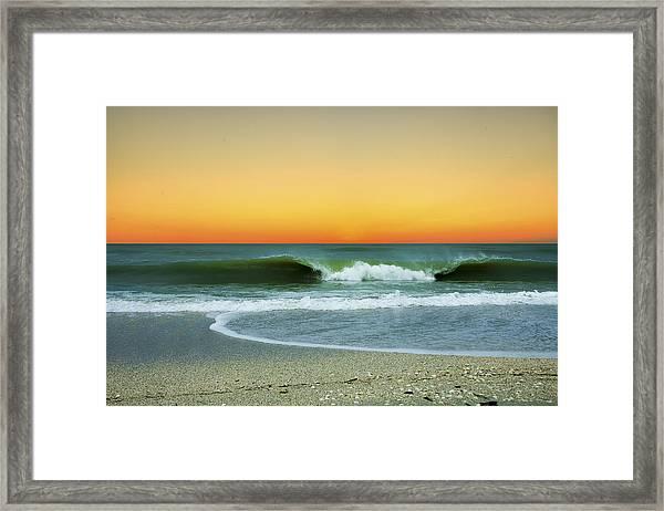 Boca Sunset Framed Print