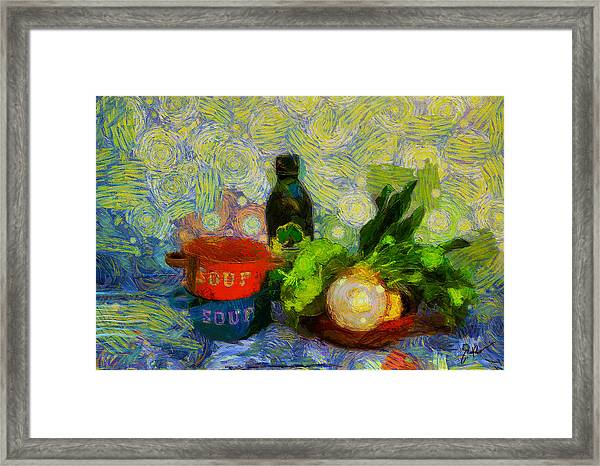 Bodegon Framed Print