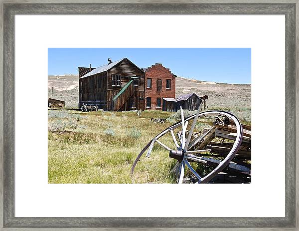 Bodie Ghost Town 3 - Old West Framed Print