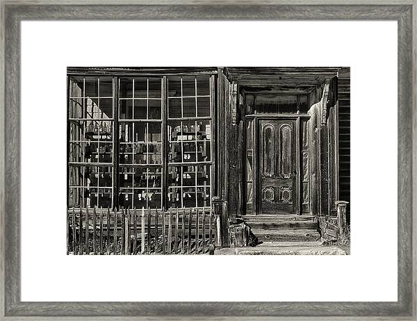 Bodie Ghost Town Framed Print by Robert Fawcett