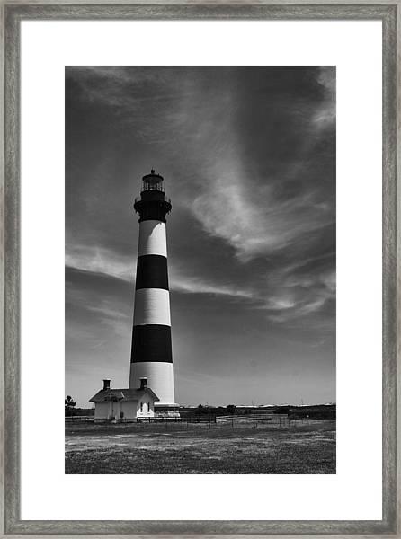 Bodie Island Light Framed Print