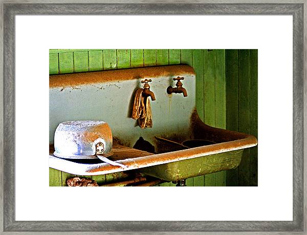Bodie Water Fixtures Framed Print