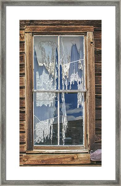 Bodie Window Framed Print