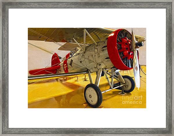 Boeing Fighter 4b-1 - Front Framed Print