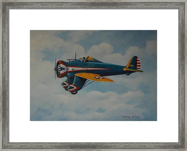 Boeing P26 Framed Print