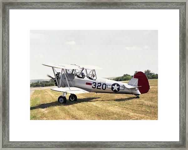 Boeing Stearman Framed Print