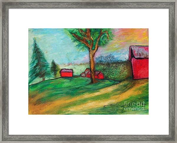 Boerjan's Farm Framed Print