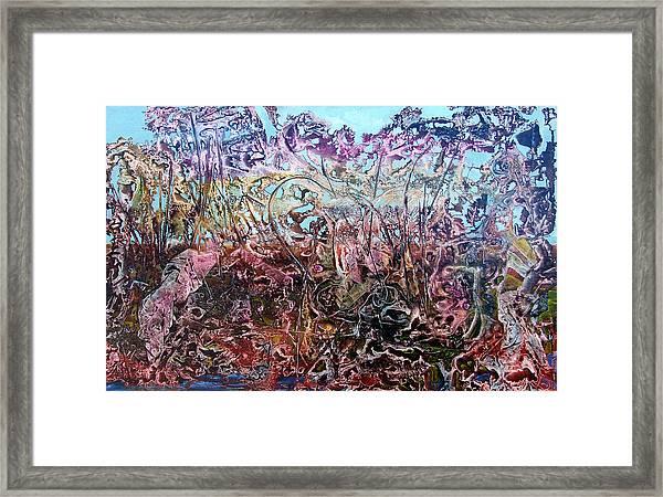 Bogomils Vegetable Garden  Framed Print