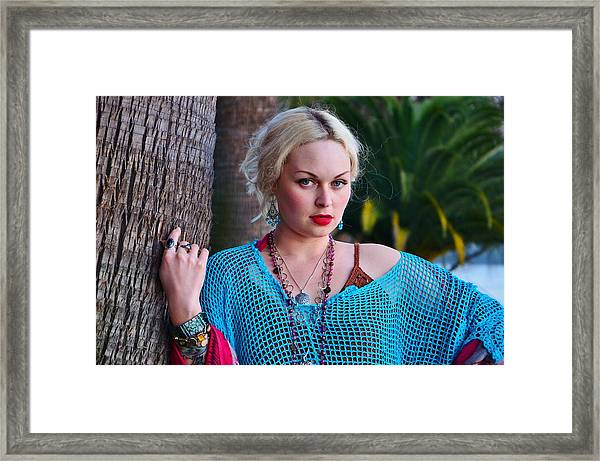 Bohemian Beauty Framed Print