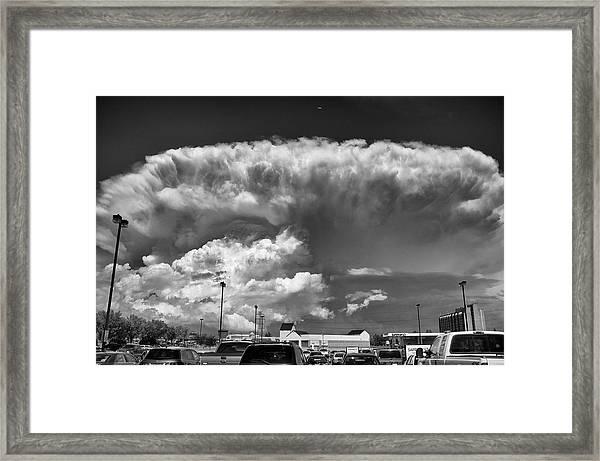 Boiling Sky Framed Print