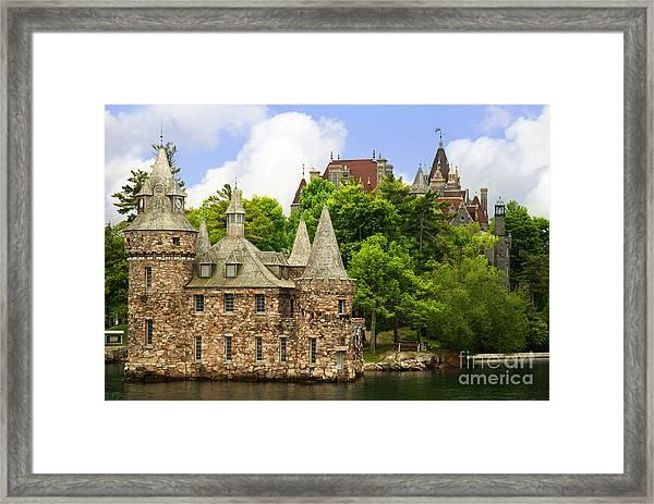 Boldt Castle Framed Print