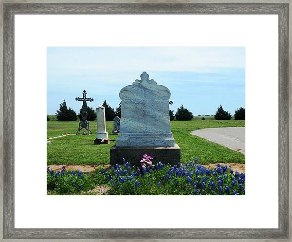 Bomarton Catholic Cemetery 6 Framed Print