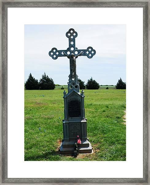 Bomarton Catholic Cemetery 9 Framed Print